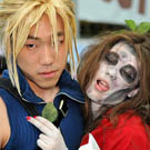 Cloud and Zombie Aeris Final Fantasy 7 Costumes