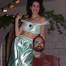 Genie and Magic Carpet Couples Costume