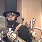 Steampunk Abe Lincoln Costume