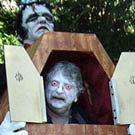 Frankenstein Carrying Coffin Costume