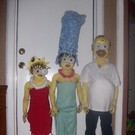The little version of the Simpsons