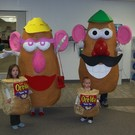 Mr. & Mrs. Potato Head and their Tater Tots
