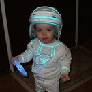 Aiden as Kevin Flynn from the Original TRON