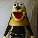 Homemade Slinky Dog Costume